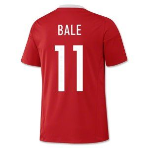2016 Wales National Team BALE 11 Home Soccer Jersey [D934]