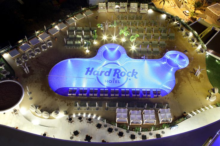 Your pool position at Hard Rock Hotel Tenerife