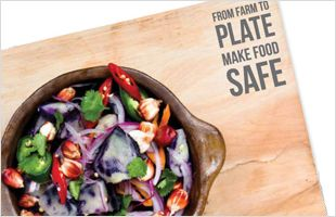 Happy World Health Day! This year's theme is food safety. Here are 5 keys to safer food