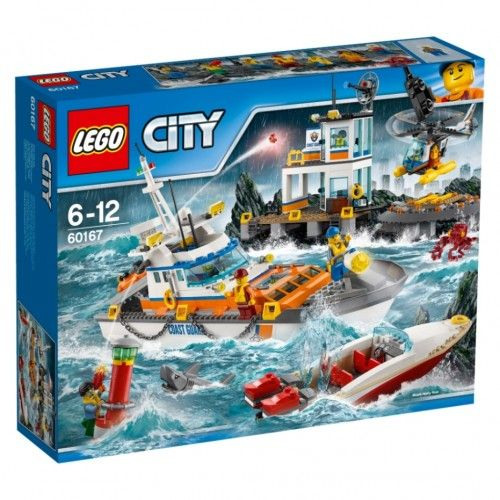 Lego 60167 Kustwacht hoofdkwartier