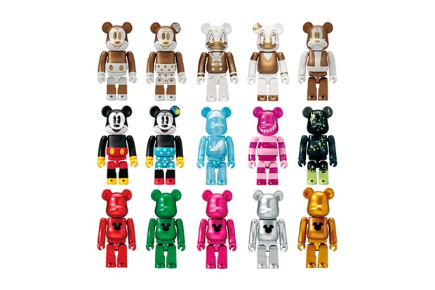 "Medicom toy Bearbrick Special Ornaments ""Mickey Mouse"""