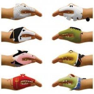 Pratende Handen Enge gezichten - Kado onder de 10 euro - Gadgets - Een origineel kado idee met Kado om de Hoek