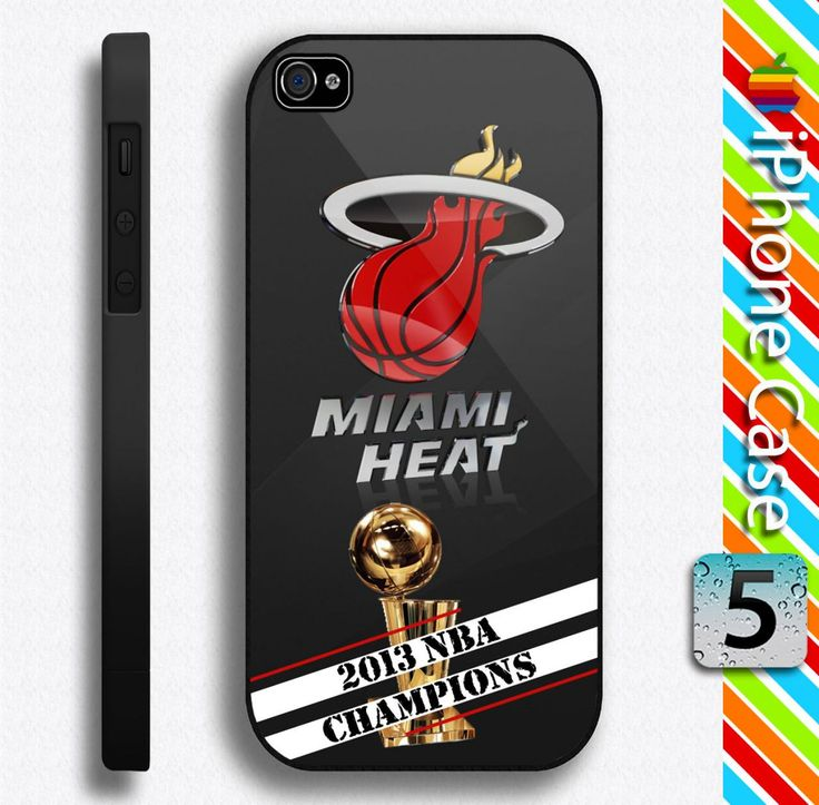 Miami Heat 2013 NBA Champions iPhone 5 Case Durable Plastic