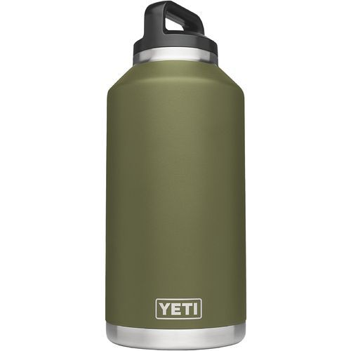 Yeti Rambler 64 oz Bottle Green - Thermos Cups And Koozies at Academy Sports