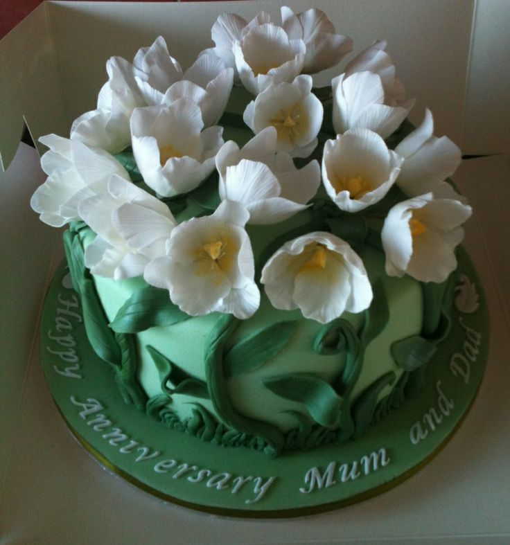Tulip cake 2 my cakes pinterest cake art cake for Art cake decoration