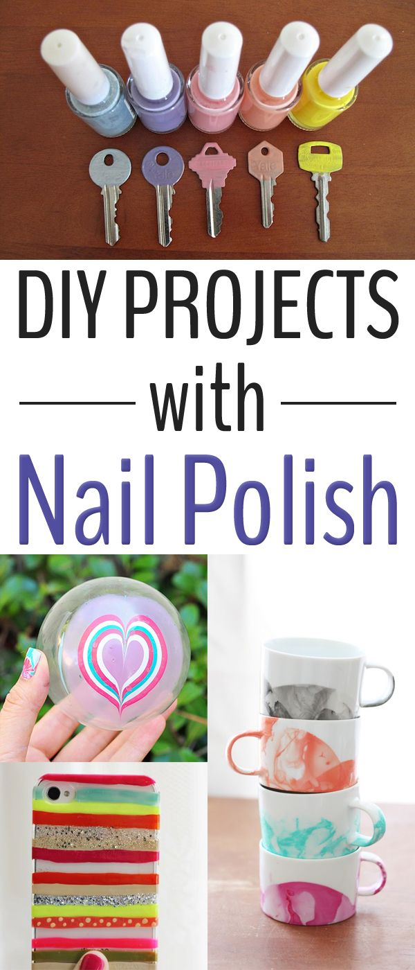 Best 25 nail polish crafts ideas on pinterest nail polish 15 creative diy projects with nail polish prinsesfo Images