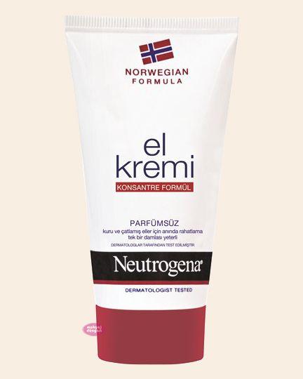 NEUTROGENA El Kremi Parfümsüz 75 ml