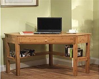 simple bamboo wood corner desk for offices u0026 hometigerfn sales
