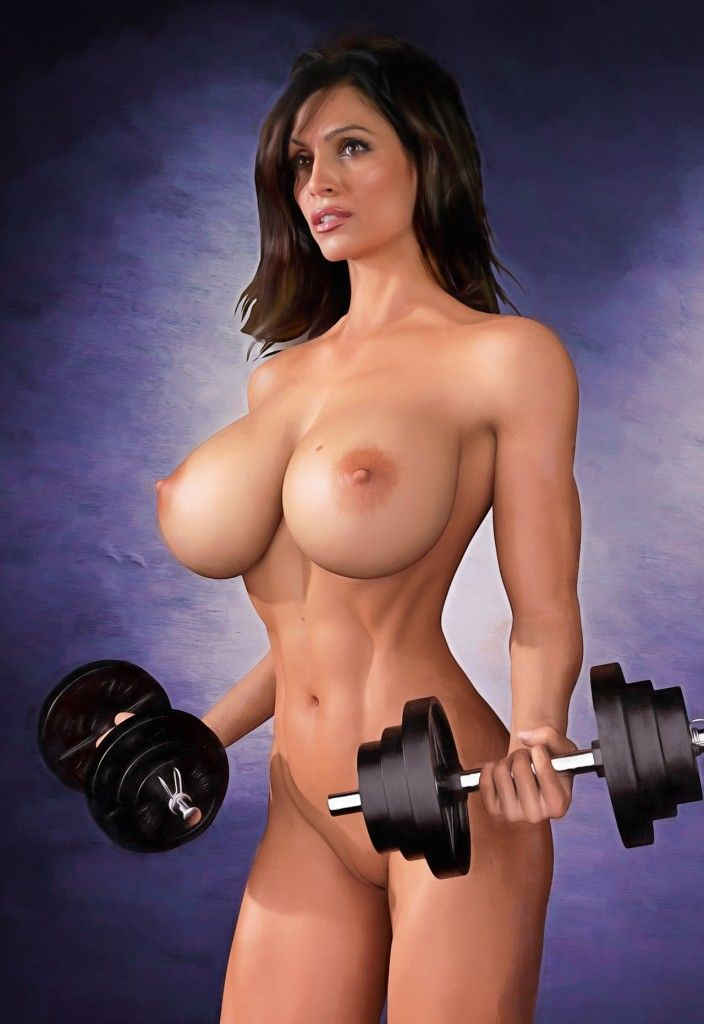 hot naked fitness ladies