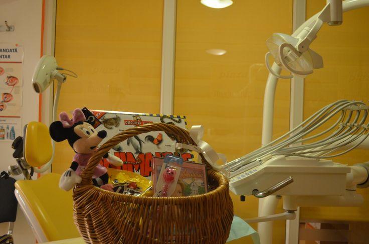 dental office. goodies.patient reward. basket gift. dentistry for chilldren