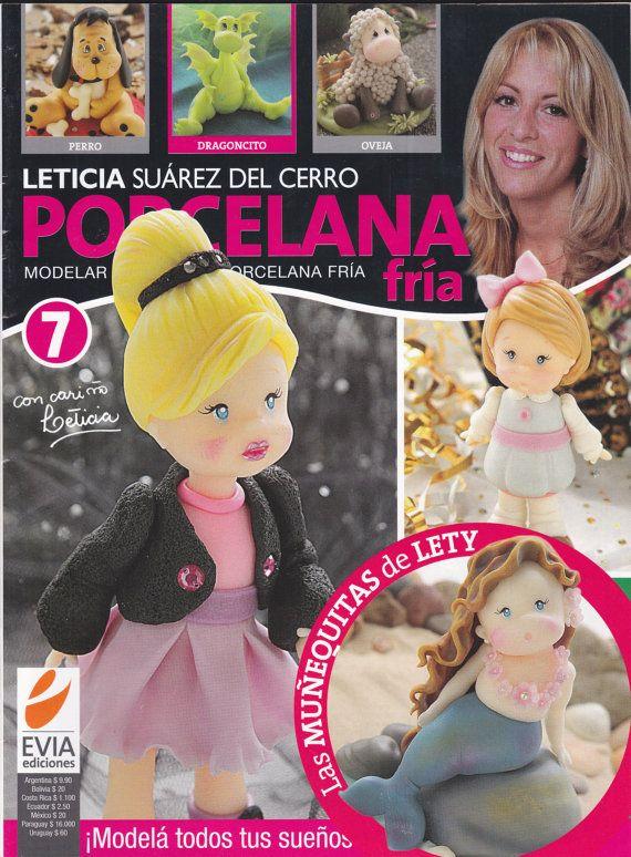 Cold Porcelain Magazine 7 by Leticia Suarez del by AmGiftShoP, $12.99