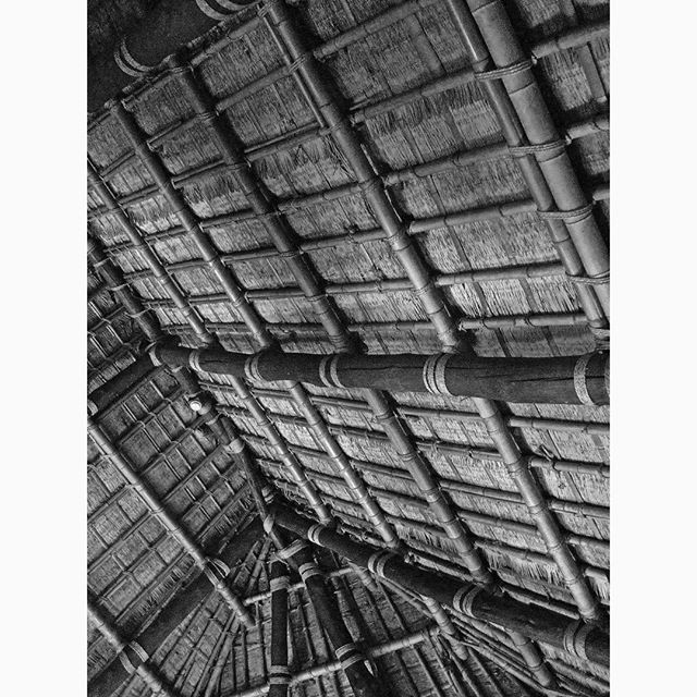 Roof 屋根 Timber 木造 Bamboo 竹 Rope 縄 Thatch 茅葺