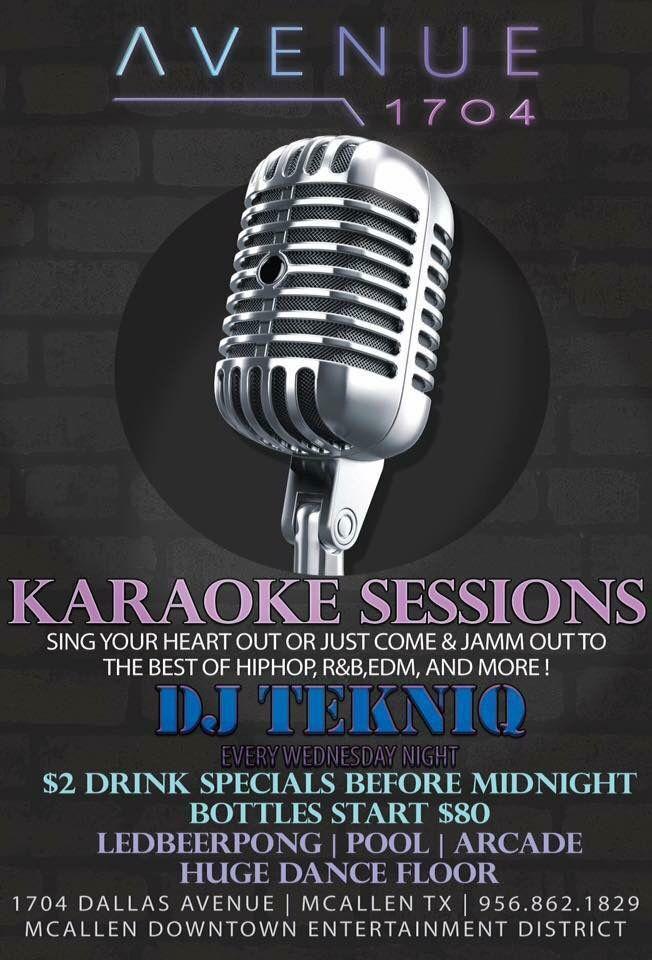 Who\u0027s down for some Karaoke??!! Its going down TONIGHT @ Club Avenue