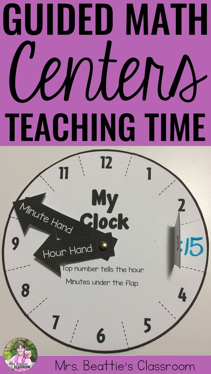 Using a Guided Math or Daily 5 Math approach in your classroom? This Telling Time resource is for you! Includes reading and showing time to the nearest :15 and :05. Just the right number of activities for a month of rotations!