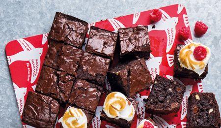 Heavenly brownies