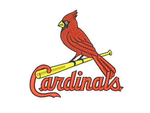 22 Best St Louis Cardinals Images On Pinterest Machine Embroidery