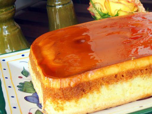 Classic Custard Cake