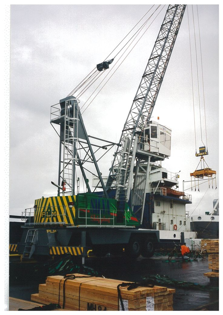 Mobile Crane Near Me : Plm cranes mobile harbour crane with