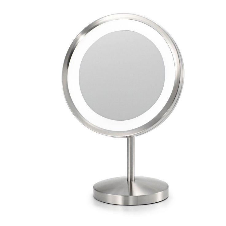 From Electric Mirror, the new Blush™ Cosmetic Mirror has all the benefits of a traditional makeup mirror in addition to a 25 watt incandescent lighting.