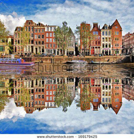 beautiful Amsterdam, Holland