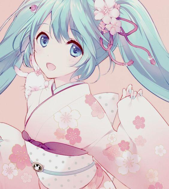❤٩(๑•◡-๑)۶❤                                               Hatsune Miku #vocaloid: