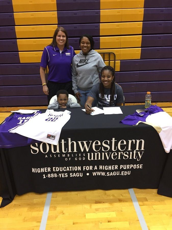 The Southwestern Assemblies of God University (SAGU) women's basketball team is adding Izegbe Enabulele to the roster.  Enabulele is a transfer junior from Jacksonville College in Jacksonville, Texas.