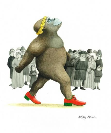 Children's Book Illustration - Anthony Browne