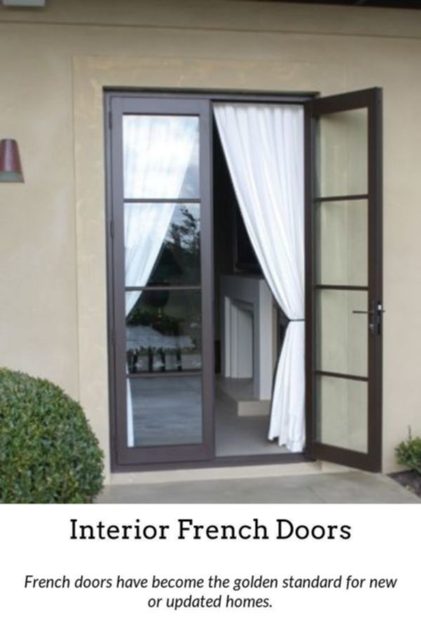 French Doors Add A Touch Of Luxury To Your Home Via Indoor Or