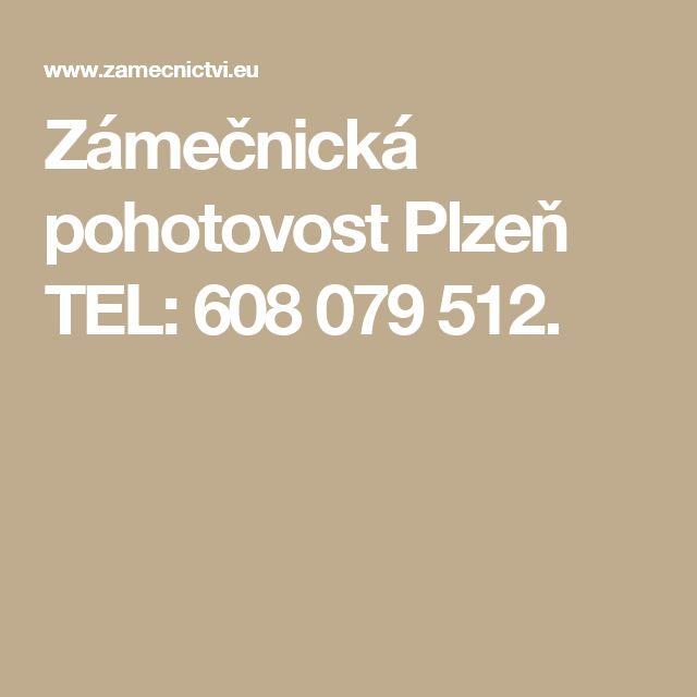 Zámečnická pohotovost Plzeň TEL: 608 079 512.
