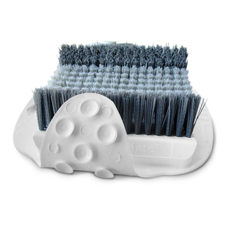 The Shower Foot Scrubber - Hammacher Schlemmer