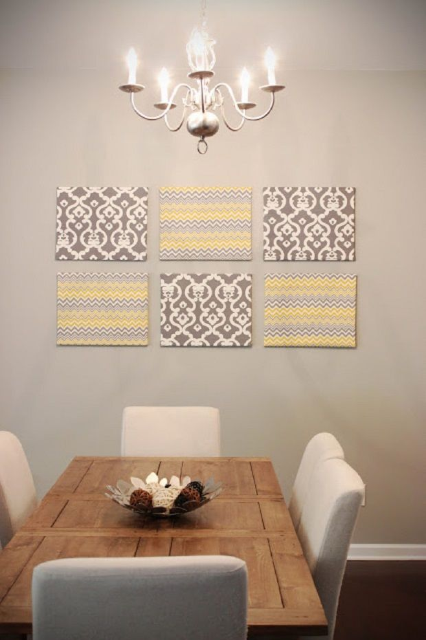 Diy Dining Room Wall Art 106 best wall art - cheap & easy images on pinterest | diy, home