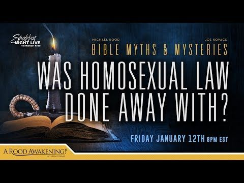 Was Old Testament Homosexual Law Done Away With? - YouTube