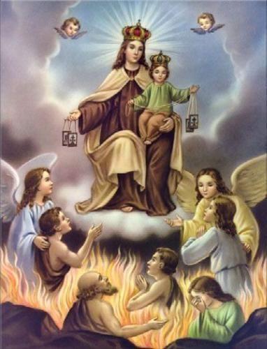 Coronilla de los Cien Requiem, para rezar por las almas del Purgatorio. – Virgen Peregrina del Barrio San José