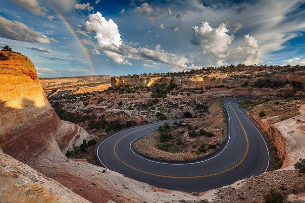 Пейзаж в штате Колорадо, США