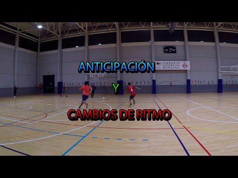 Ejercicios de anticipación y cambios de ritmo en Fútbol Sala | Futsal anticipation drills - YouTube
