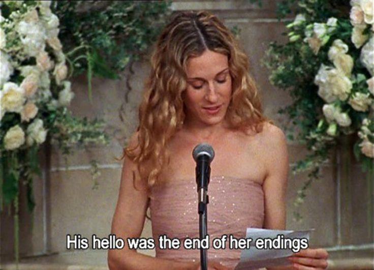 #carriebradshawquotes #sexandthecityquotes #hello #goodbye