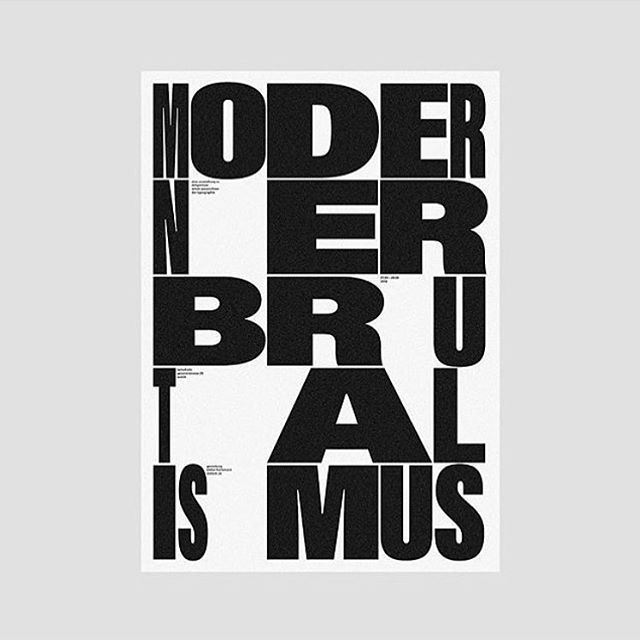 TYPE @stefanhuerlemann #design #typography #poster