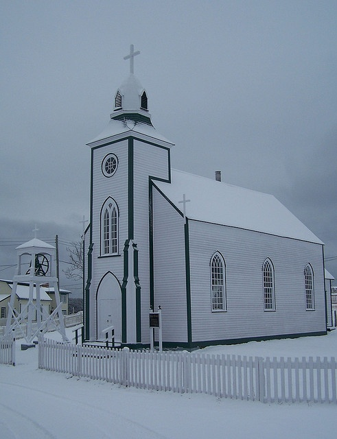 White on White by Product of Newfoundland, via Flickr