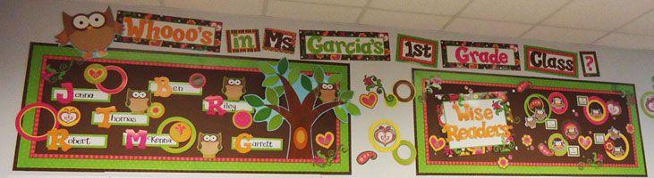 owl theme for classroomHot Chocolate, Classroom Decor, Owls Classroom, Theme Classroom, Owls Bulletin, Bulletin Boards, Classroom Themes, Owls Theme, Classroom Ideas