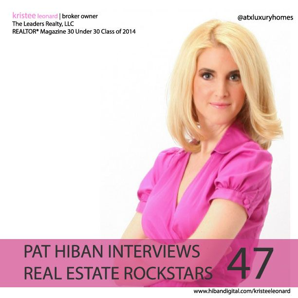 Join us as Kristee shares her realtor mindset and a glance at her journey to becoming a member of the 2014 class of Realtor Magazine's 30 Under 30, and a Real Estate Rockstar... #realestate #podcast #pathiban #hibandigital #hibangroup #HIBAN #realestatesales #realestateagent #realestateagents #selling #sales #sell #salespeople #salesperson #kristeeleonard