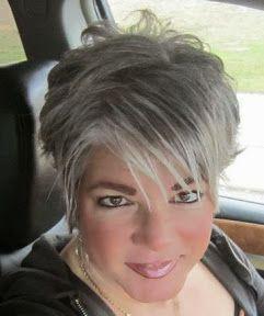 rockin' the silver hair