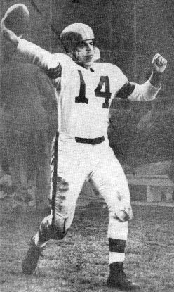 Otto Graham first great Browns QB!