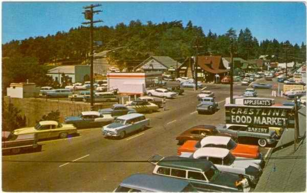 Crestline Ca 1950s My Parent S Had A Cabin Up Here
