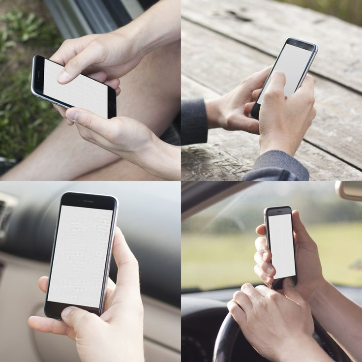 iPhone 6 mockups. Outdoor & Cars