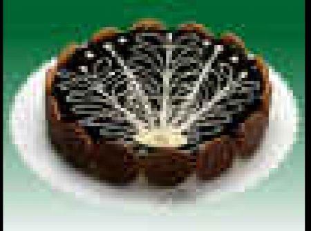 Receita de Torta luxúria de chocolate - tortas coloque o pão de ló e coloque os bicoitos nas laterais . derreta o chocolate e misture o creme de leite e o licor de menta. coloque no...