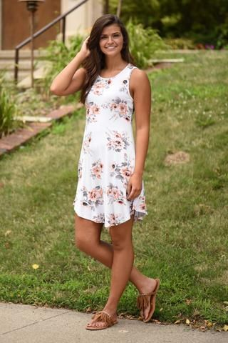 Back at the BBQ Dress ~ Ivory