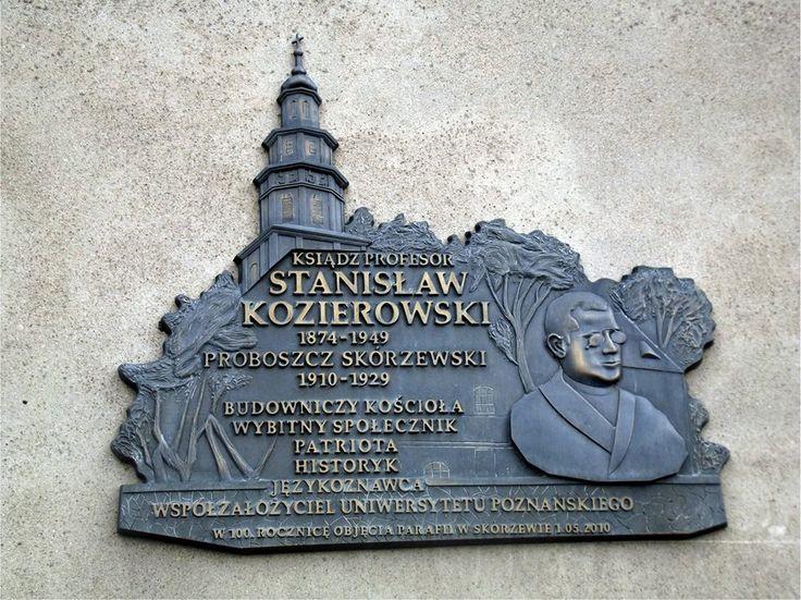 """Stanisław Kozierowski - autor wielu prac, w tym kilku, z których często korzystamy :) np. """"Badania nazw topograficznych na obszarze dawnej zachodniej i środkowej Wielkopolski..."""""""