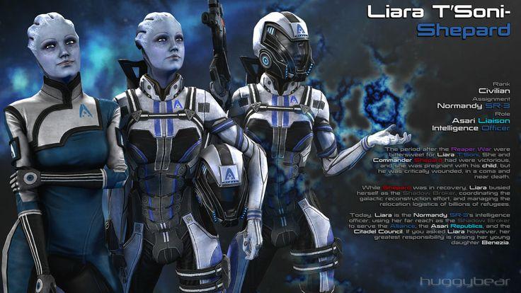 Afterword: Liara   (By huggybear)