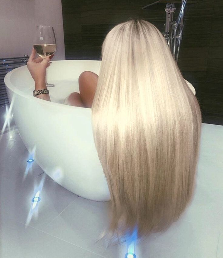 Beautiful long Blonde Hair. If you want hair color…