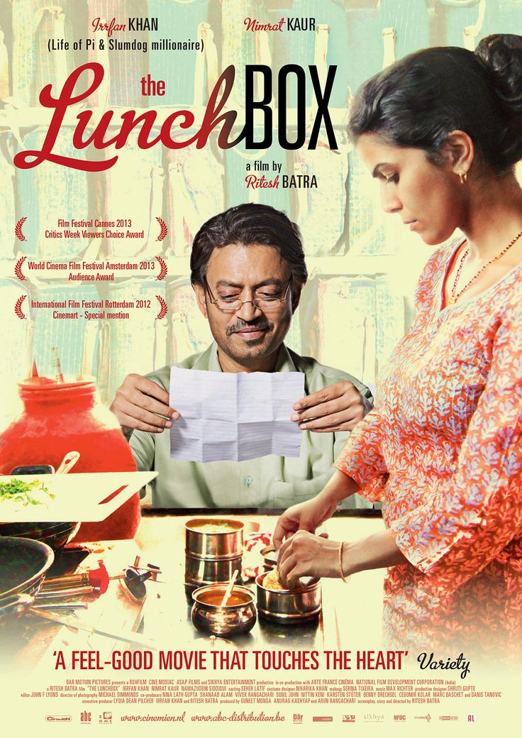 The Lunch Box, a story of the life we dream of versus the life we live in, and of the courage it takes to turn out fantasies into reality.